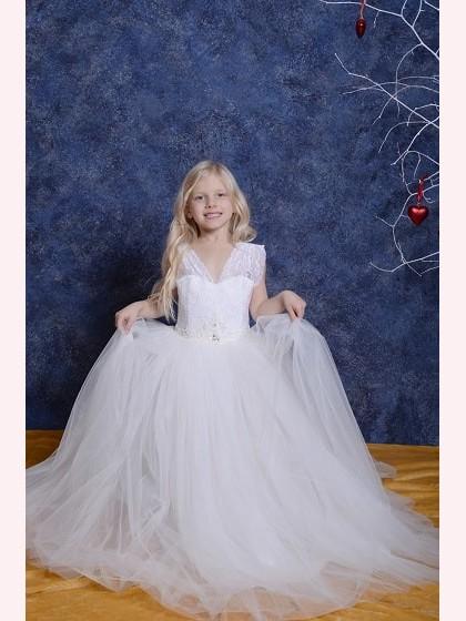 Vaikiška suknelė V005